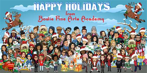 BFAA holiday card