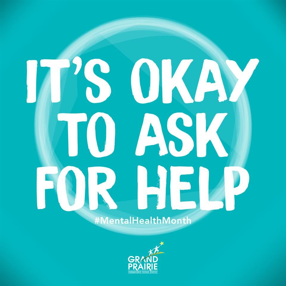 It's Okay to ask For Help - decorative image