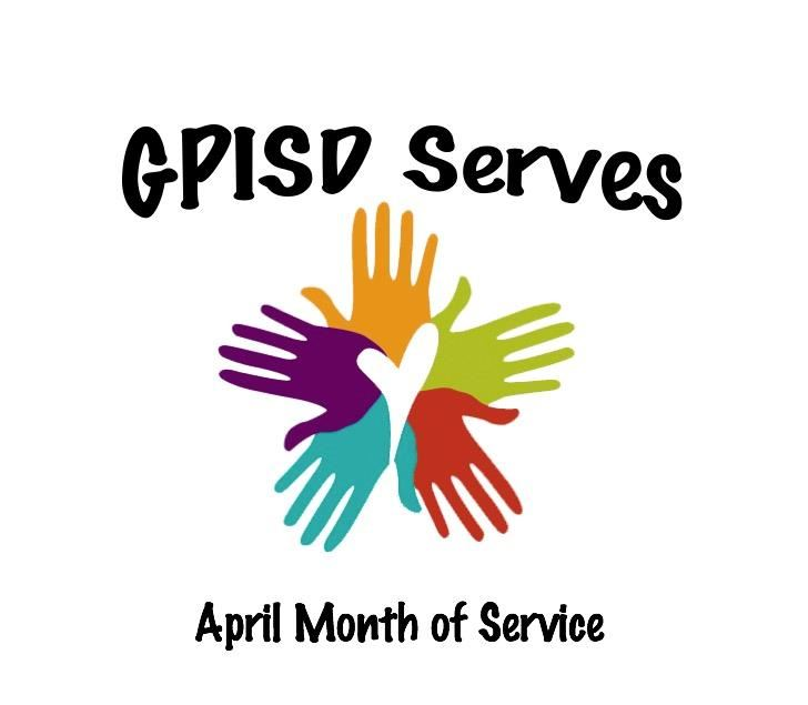 April Month of Service logo