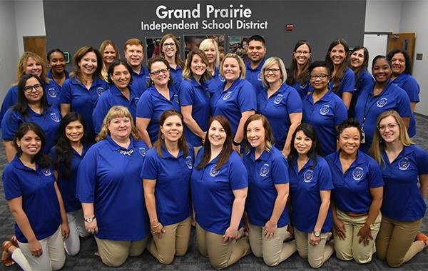 Grand Prairie ISD Advanced Academics Group Photo