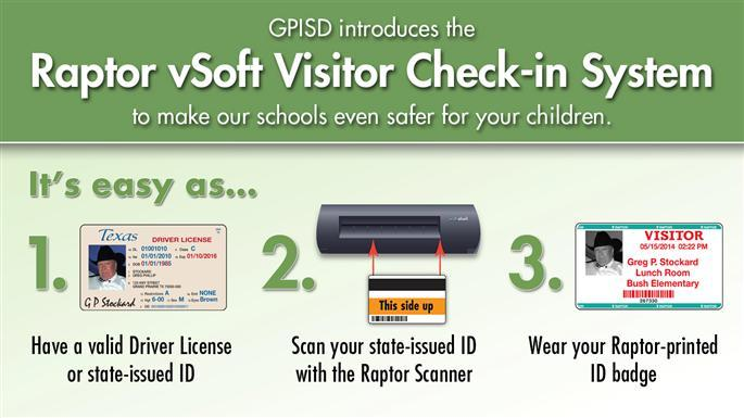 Raptor Visitor Check-in System