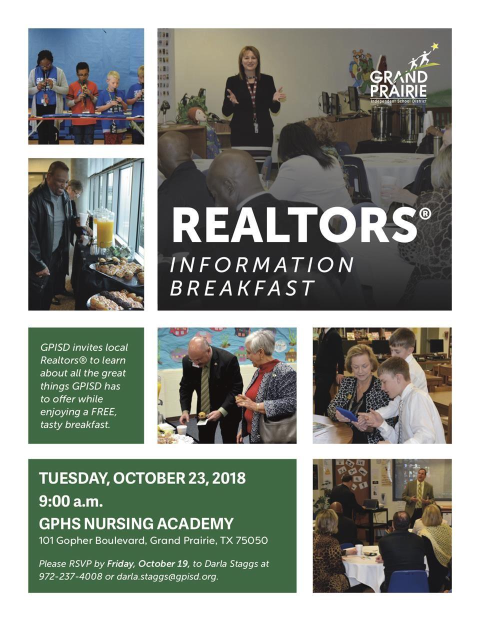 Realtor Information Breakfast Overview