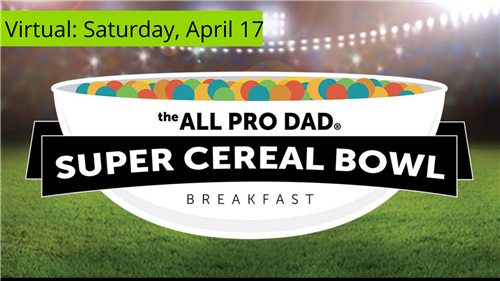 2021 All Pro Dads Super Cereal Bowl