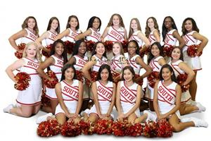 JV Cheerleaders