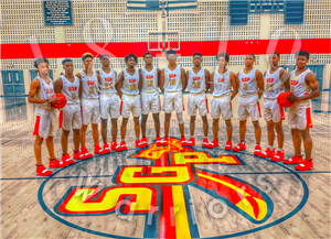 SGP Boys Varsity Basketball team