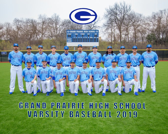 Gopher Varsity baseball team pic 2018-19