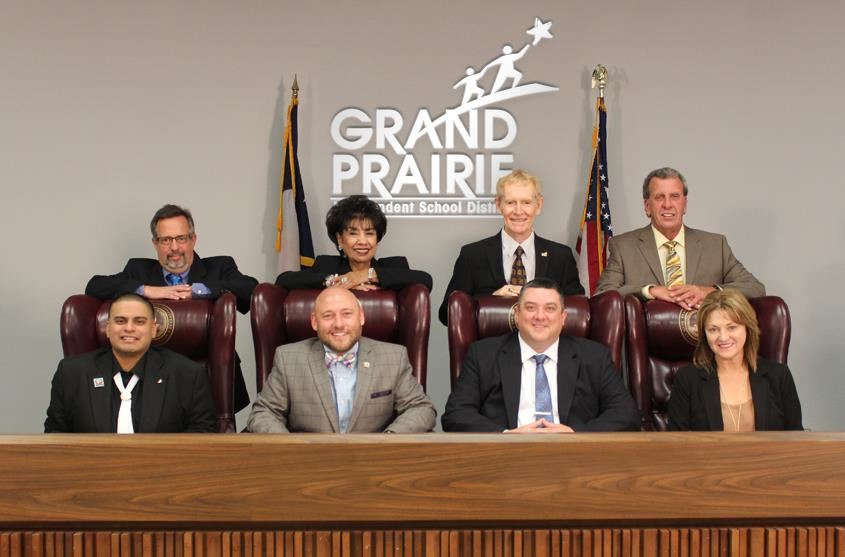 2018-19 Grand Prairie ISD School Board Photo