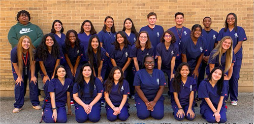 Photo of Veterinary Assisting Students