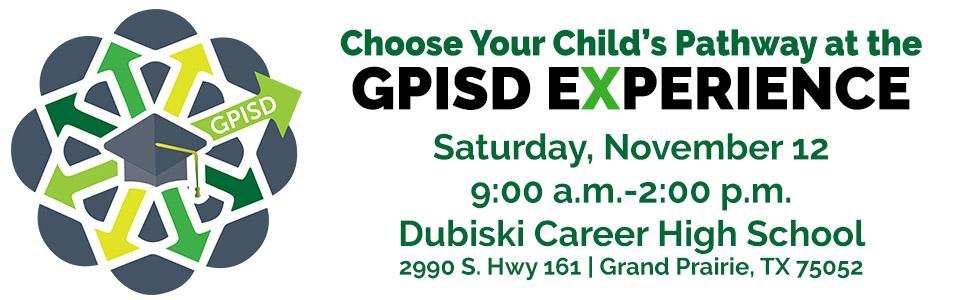 GPISD Experience Heading Banner