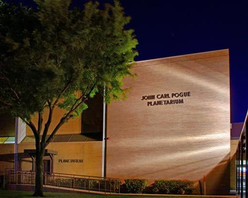 About the John Carl Pogue Planetarium