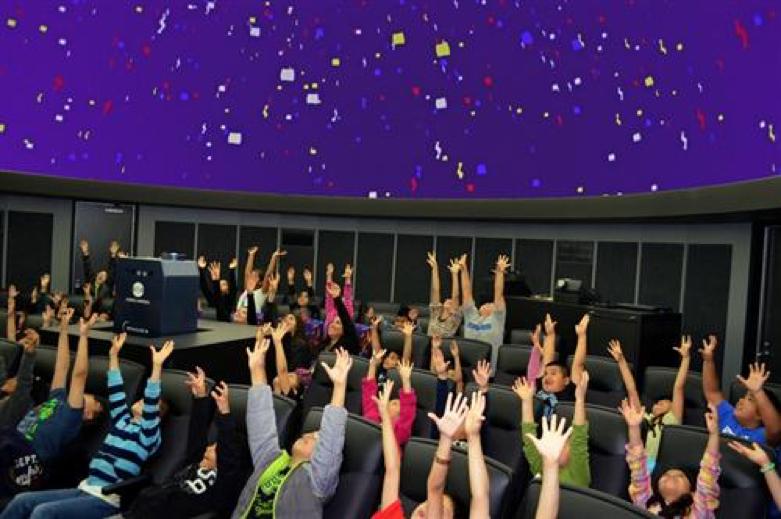 John Carl Pogue Planetarium Welcome