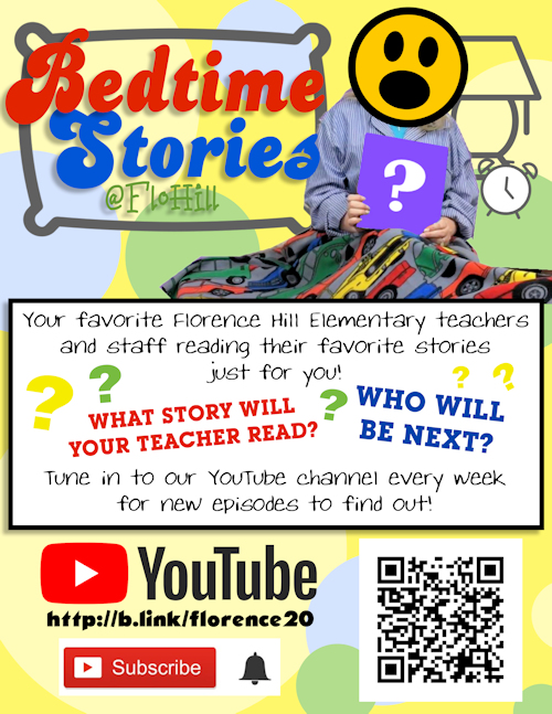 Check out our YouTube channel at http://b.link/florence20 featuring Bedtime Stories at FloHill