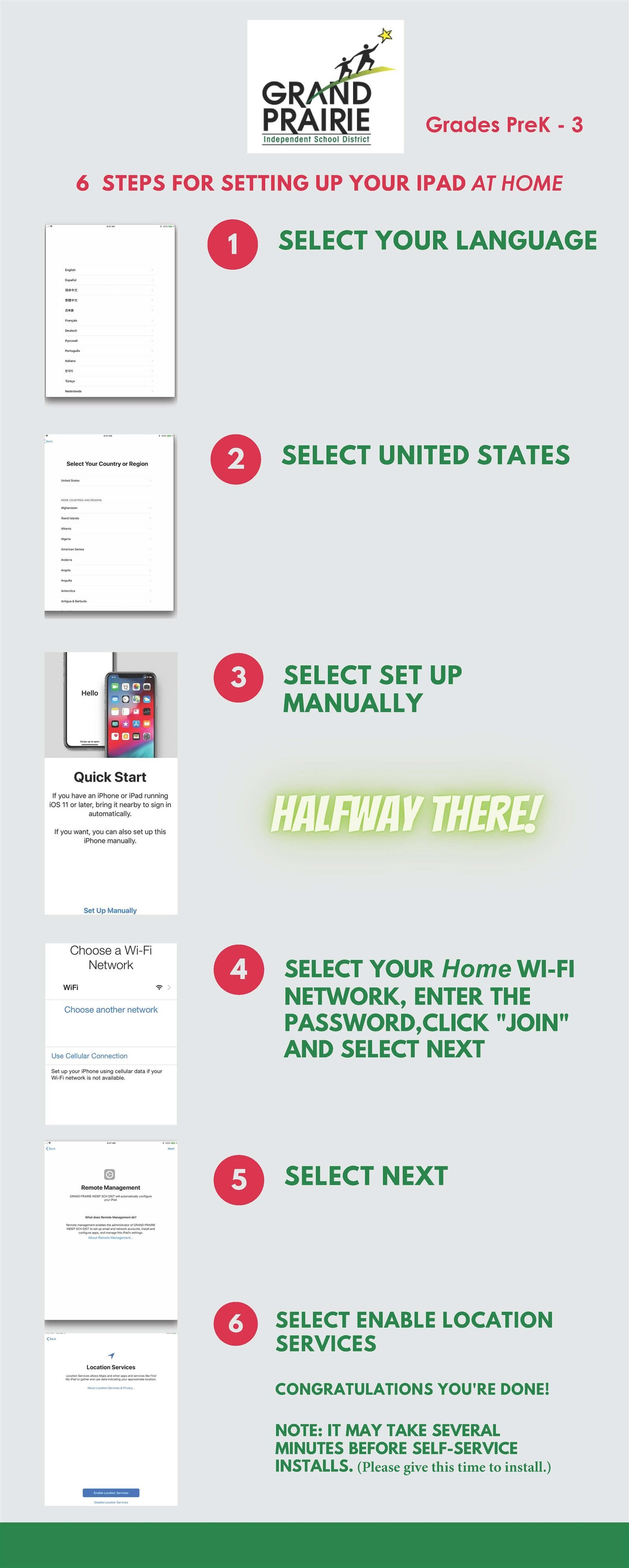 6 Steps for setting up your iPad