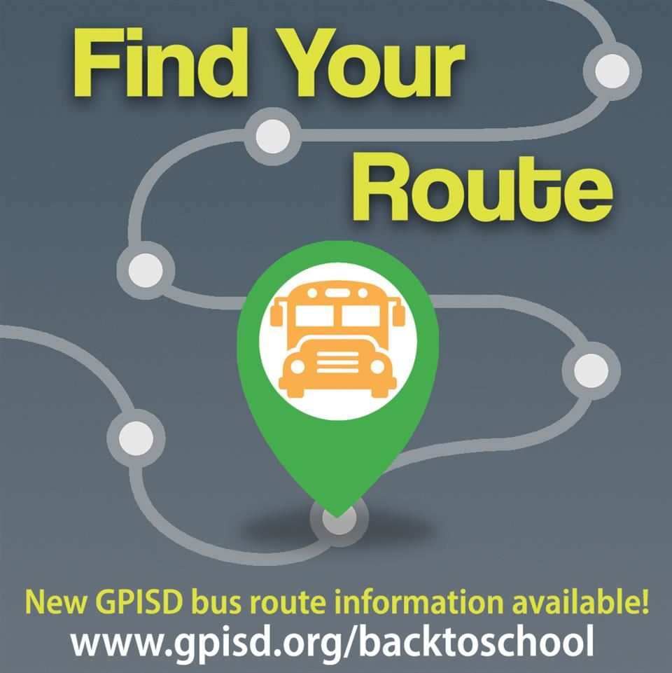 Find Your Bus Route graphic