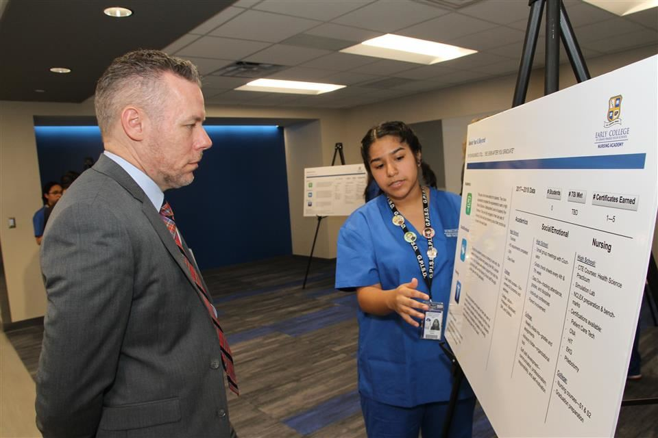 Education, State Officials to Visit GPISD's Nursing Academy