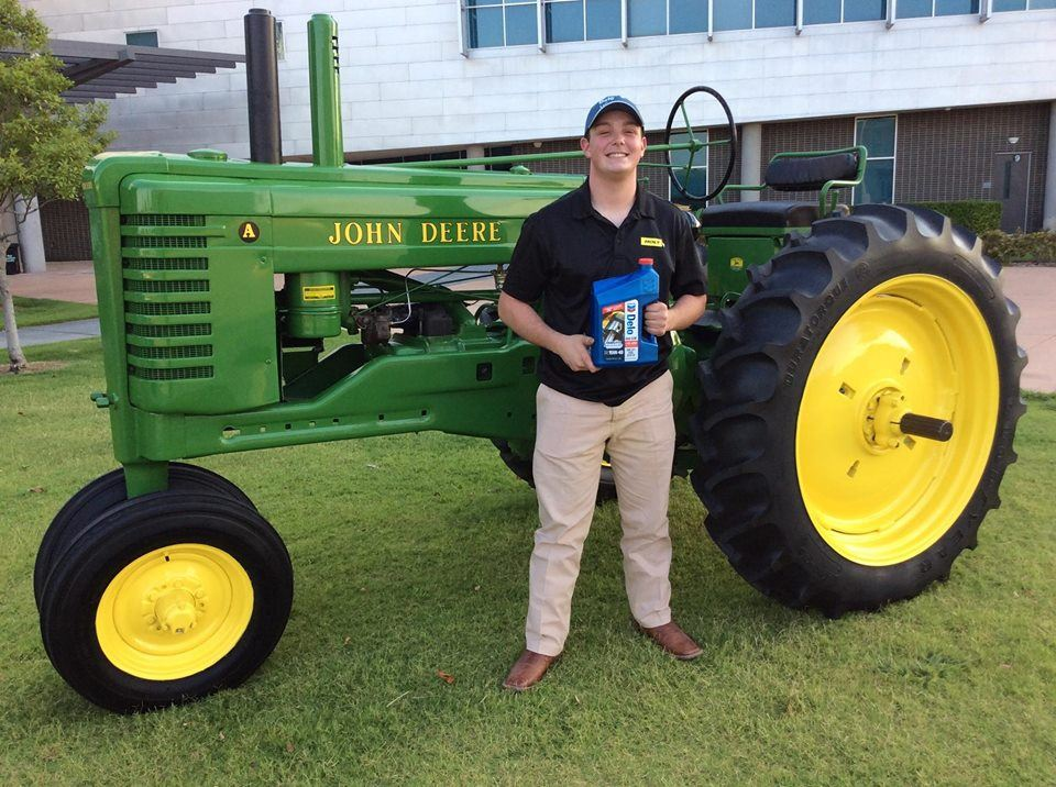 Mack Blair of Dubiski Career High School FFA Selected as Finalist in 2018 Delo Tractor Restoration Competition