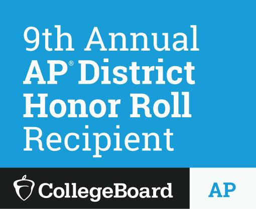 9th Annual AP District Honor Roll Recipient logo