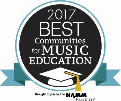 Grand Prairie ISD receives national recognition as a 2017 Best Community for Music Education