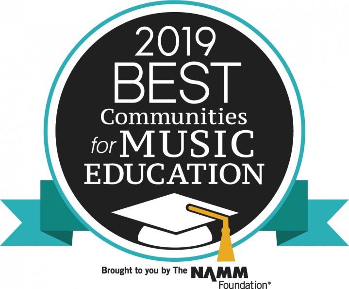 2019 Best Communities for Music in Education designation logo