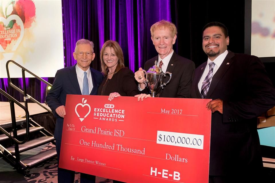 H-E-B Names Winners In 2017 Excellence In Education Awards