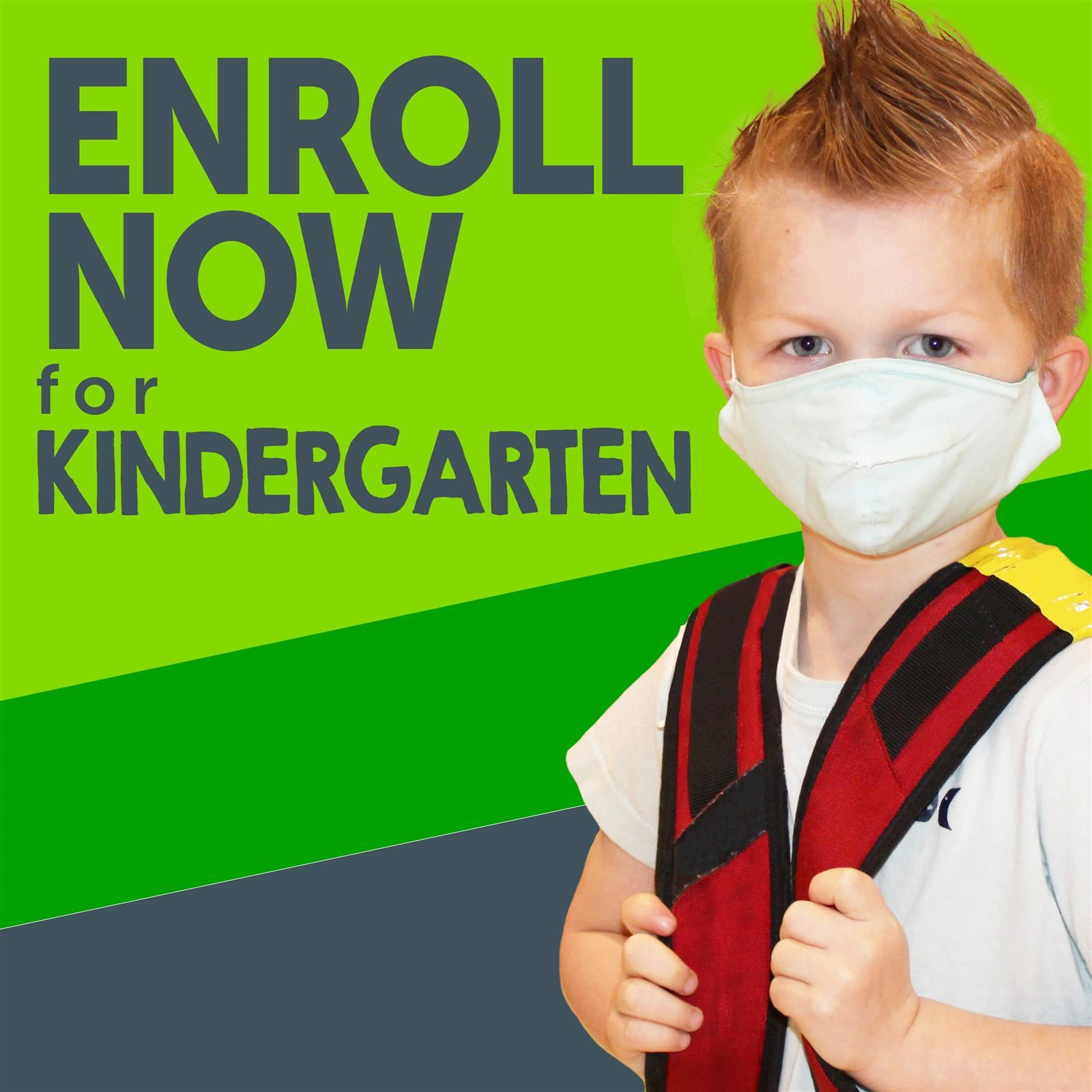Kindergarten Enrollment Now Open