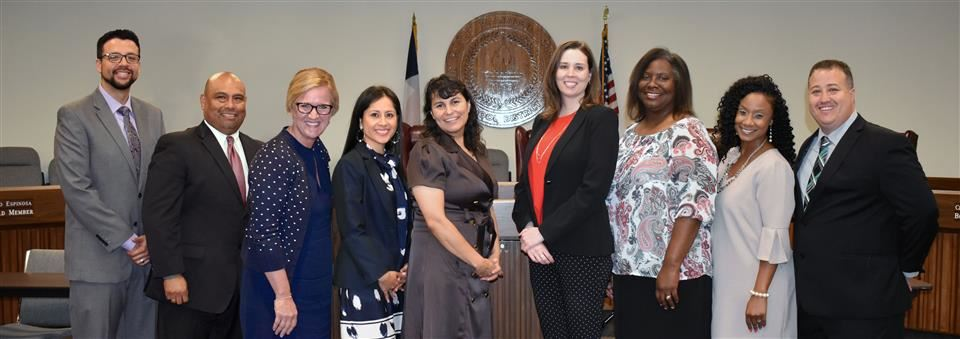 photograph of new 2018-2019 principals