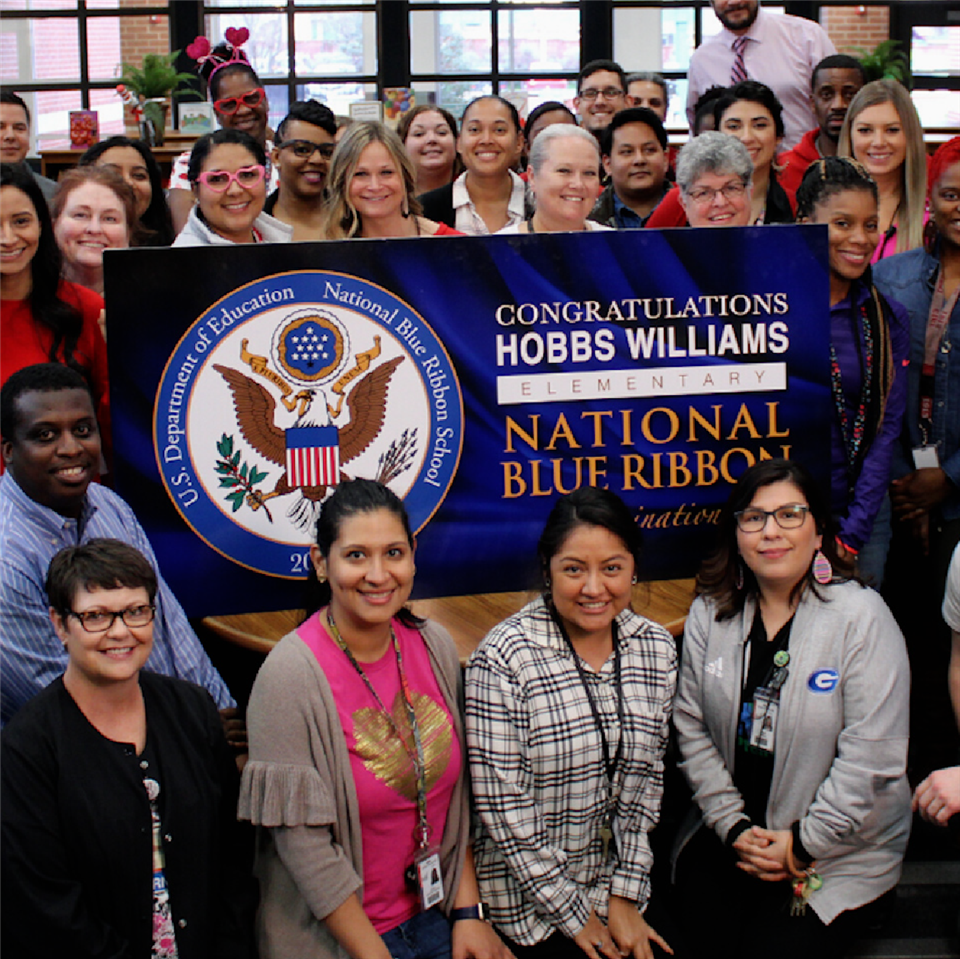 Hobbs Williams Elementary School Named 2020 National Blue Ribbon School