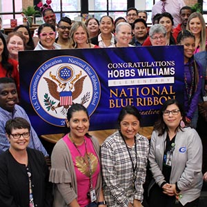 Hobbs Williams receives national honor