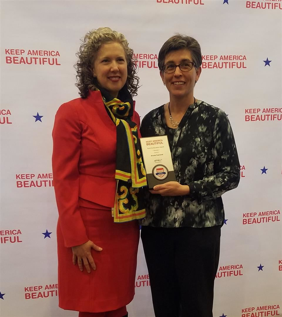 Keep America Beautiful Presents Brenda Townsend  with 2018 Youth Recognition Award