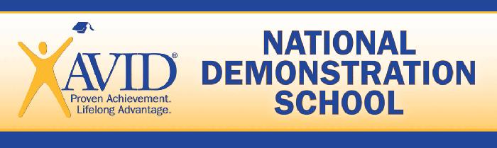 AVID National Demonstration School (logo)