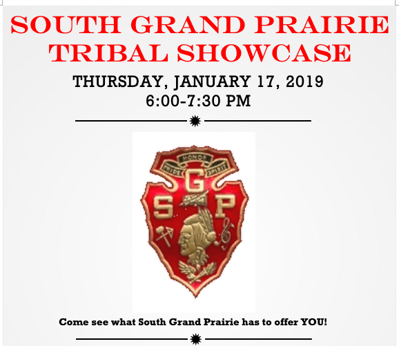 Tribal Showcase - January 17th (6:00-7:30pm)