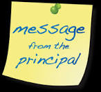 Message from Principal Grant