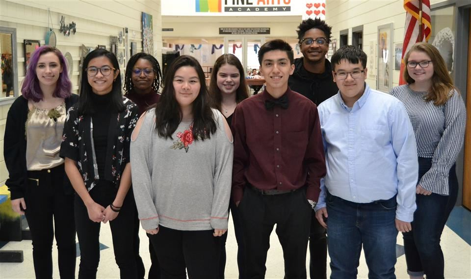 Nine Vocal Music Students Earn All-State Honors