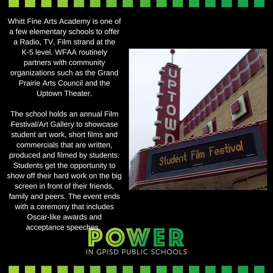 Power in GPISD Public Schools / Power in GPISD Public Schools
