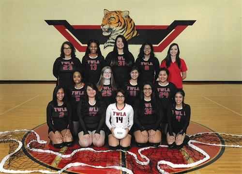 Lady Tigers JV Volleyball 2016
