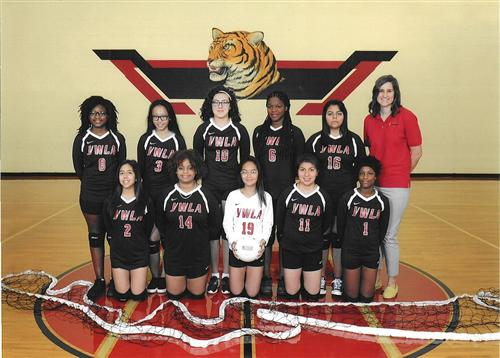 Lady Tiger Freshman Volleyball 2016