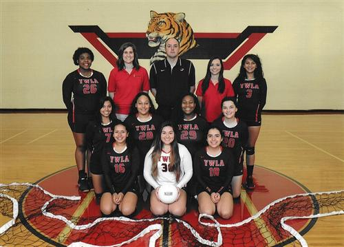 Lady Tigers Varsity Volleyball Team 2016
