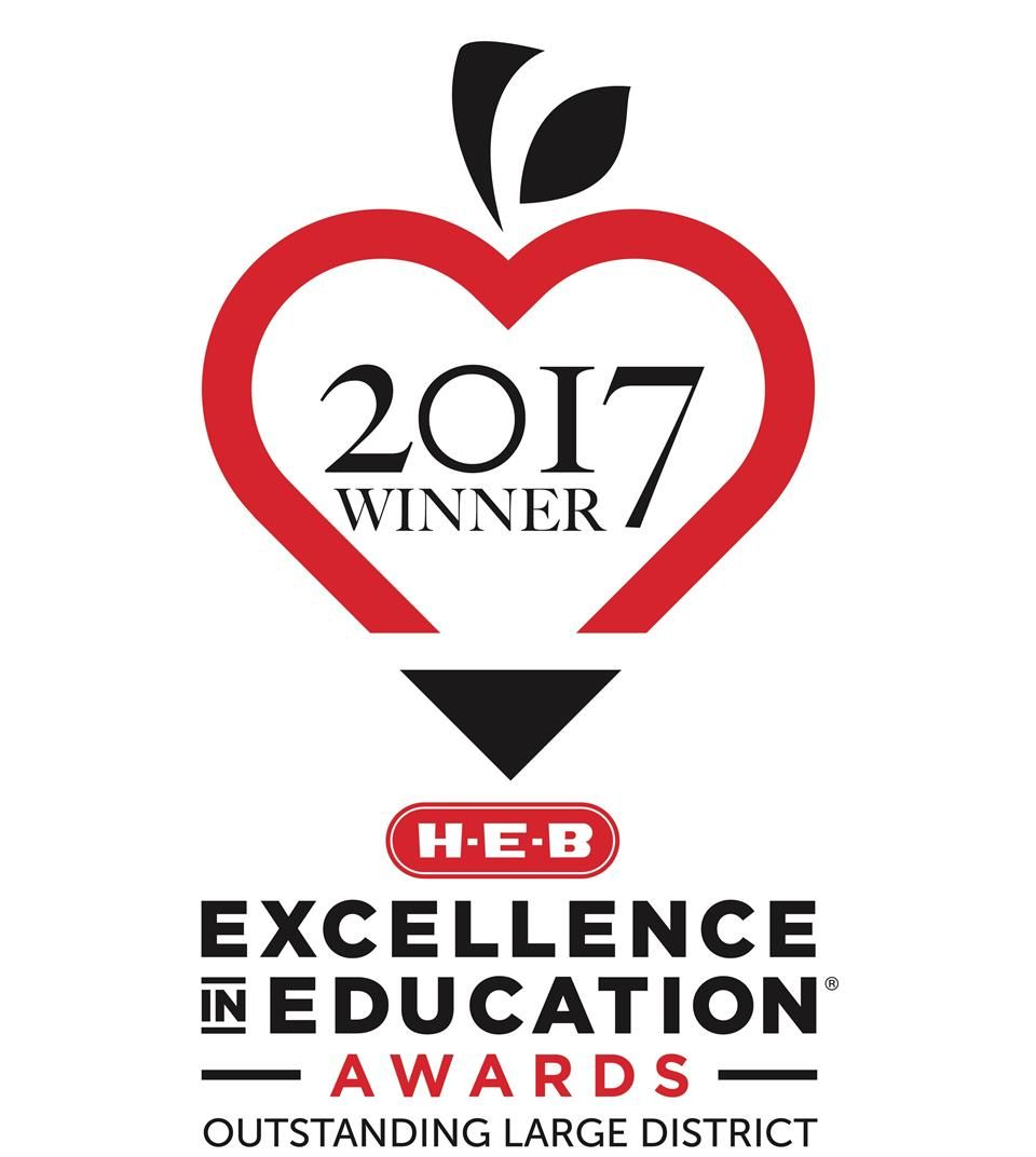 HEB Excellence in Education logo - Outstanding Large District
